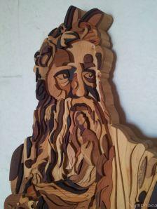 Tarsia in legno (partic.)